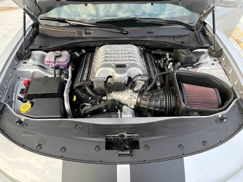 2021 Dodge Charger SRT Hellcat Redeye v8 engine