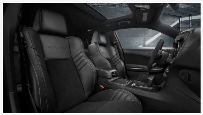 2021 Dodge Charger SRT Hellcat Redeye interior