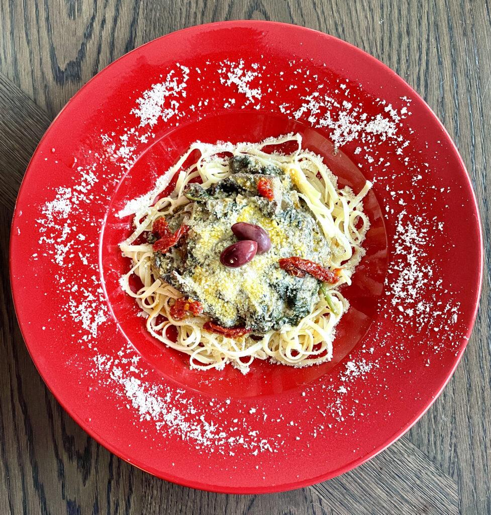 meatless pasta recipe