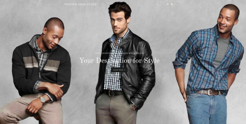 Mocha Man Style Store