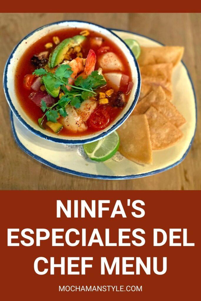ninfa's menu